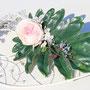 伊勢丹浦和店春の手作り展2015年 プリザーブドフラワー鈴木美智子 作品