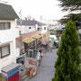 上から見下ろす神戸の街並み