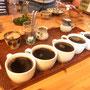 北軽井沢の麦小舎さん。手作りのお昼ご飯に、食後のコーヒー。