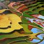 Veloma Mr Gauguin (75x61 cm) Acrylique sur toile VENDU