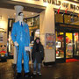 avec l'homme le plus grand du monde !