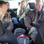 En route pour le sud de l´île, où se situe la maison de vacances de la famille de Rasmus