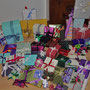 Une quantité de cadeaux impressionnante ( plus de soixante recensés)