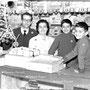 Dicembre 1961 Via S.Francesco - Il negozio di Francesco Forciniti(noto come 'a putiga 'i Misconti)