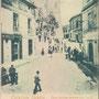 Seconda metà anni '20 - Corso Principe Umberto - a sinistra, la storica sede della Tipografia del Popolano di don Ciccio Dragosei (f.to pubblicata su facebook da Mario Salatino)
