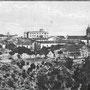 1910 Viale Rimembranze Da notare la torre campanaria della chiesa di S.Francesco senza orologi e in forma diversa(foto Leoni)
