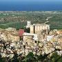 Il Borgo antico e la pianura