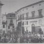 Seconda metà anni '20 P.zza del PopoIo-Cinema Italia(inaugurato il 25-12-1926) e sopra la sartoria Moderna di Ortale