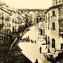 1903 Via Roma e il Ponte Canale (foto Leoni)