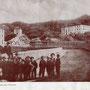 """1902 Il """"Calvario"""" e il grande convento dei Cappuccini annesso alla chiesa di S.Anna.(foto Leoni)"""
