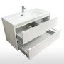 Hochwertige Schubladen mit Softeinzug und Metallzargen, Schubladentechnik von Blum