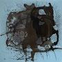 Quadrat 3, 2016, Acryl / Tusche auf Leinwand, 40x40cm