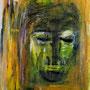 Ausblick  2004,  Acryl auf Papier 30x40 cm