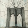 Brooklyn Bridge  2008, Ölpastell auf Papier 60x80 cm