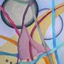 Der Reigen, 2008, Buntstifte auf Papier 60x80cm