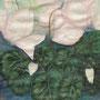 Alpenveilchen, 2008, Aquarell auf Papier, 60x80cm
