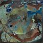 Quadrat 6, 2017, Acryl / Tusche auf Leinwand, 40x40cm