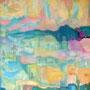 Dämmerung  2009, Acryl auf Leinwand 60x80 cm