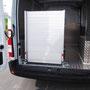 Rampe de chargement repliée 80 cm de large pour fourgon utilitaire EAS auto