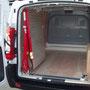 Rampe de chargement pivotant à l'intérieur pour fourgon utilitaire EAS auto