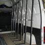 Pupitre intérieur Porte verre côté D sur fourgon utilitaire EAS auto