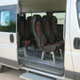 Marchepied électrique en porte latérale pour fourgon utilitaire EAS auto