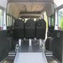 Rampe d'accès AR TPMR pour chargement de fauteuil roulant