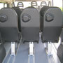 sièges individuels à démontage rapide TPMR