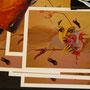 """Postkarte """"MaskeFrau 2011"""""""