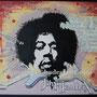 """Jimi Hendrix""...Acryl 60x50 cm, Leinwand"