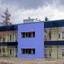 Laborgebäude - Westseite