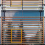 Laborgebäude - Holzlamellen