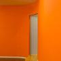 橙と水色の変化