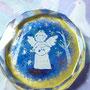 森の天使 クリスタルガラス