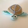 tartarughe marine in canapa e pasta modellabile disponibili vari colori