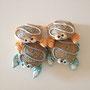 granchietti decorativi in canapa e pasta modellabile disponibili in vari colori