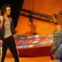 """""""Arabische Nacht"""", kleines Theater LA; Loibl, Hellmann, Ebner; Foto: Hackl"""