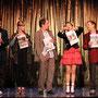 """Konfetti"", kleines Theater LA; Hellmann, Geppert, Kupfer, Trub, Knauss;Foto: Hackl"