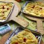 デザートピザの生地がカリッカリでパーフェクト