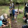 竹切り中2