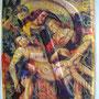 La Hoz y el Martillo ,technique mixte en relief , sur papier 460 g