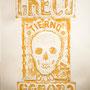 Greco Romano,technique mixte sur papier,65 x 50 cm 2011