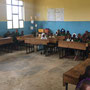Unterricht an der Sanya Hoye Primary School, Juli 2019
