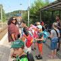 Von hier aus fuhren wir mit der S-Bahn zum Baldeneysee in Kupferdreh