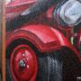 Oldtimer der Feuerwehr in Berlin Brandenburg als Motiv Vorlage