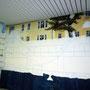 Fassadenmalerei im Innenraum auch in Sauna, Spa,wellnessbereich
