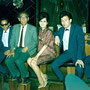 WENDY & THE GARDENIAS (1964) vlnr: Han Averbeek, Louis Nol, Jan Patty, onbekende oudere heer ?, Wendy, Harold de Groot, Ferdy Minderman (fotocollectie: Jan Patty)