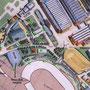 Expo 58 Brussel - plattegrond attractiepark