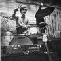 The Hondos - drummer Cok Kropff in Berlijn