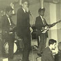 TEH VALIANTS - Wasserij de Valk 1961 - vlnr: Hans Consten, Teddy Grey en Oely Ros (fotocollectie Teddy Grey)